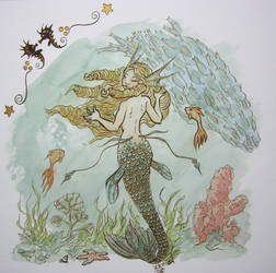 mermaid finished by vrm1979
