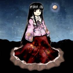 Kaguya Houraisan by Yuiru