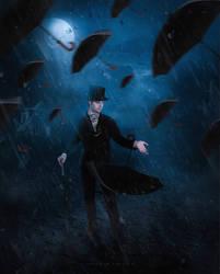 dance in the rain by kimoo0