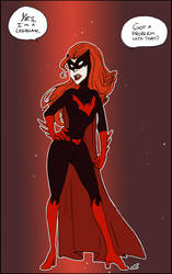 Batwoman's coming out by chlove-art
