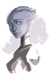 Liara T'soni by chlove-art