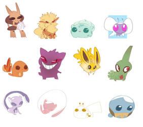 pokemon1 by chlove-art