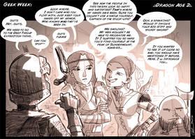 GGaR in Dragon Age 2 by chlove-art