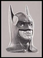 [sketch] Batman by BikerScout