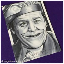 Joker sketch card by BikerScout