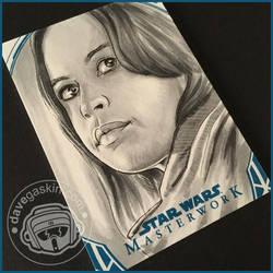 Star Wars Masterwork 2018: Jyn Erso by BikerScout