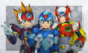 MMX-Maverick Hunters by Mikoto-Tsuki
