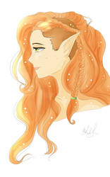 Keyleth's Time Skip hairstyle by MeghansDreamDesigns