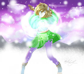 Cassie-Casting Ray Of Frost Three Years Later by MeghansDreamDesigns