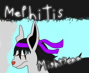 Mephitis Mightyena by TrueFireYoshiBlader