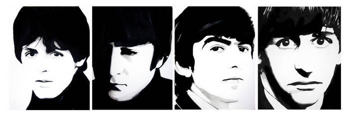 The Beatles by mixtapegoddess