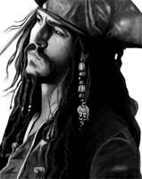 Captain Jack Sparrow by mixtapegoddess