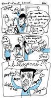 Knock-Knock Spock -Original- by enterprising-bones
