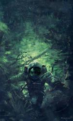 Cosmonaut by giovanni-panarello