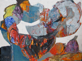 60X80cm Oil On Canvas by JMJahn