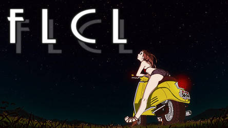 FLCL Vespa by meanboss