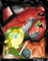 Link vs Volvaga by samiiieee