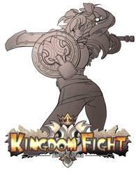 kingdom fight  test02 by kinggainer