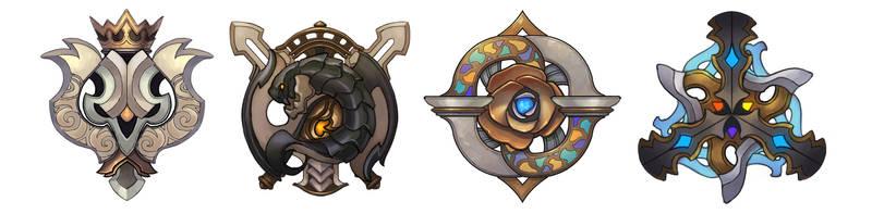 kingdom Badge by kinggainer