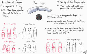 Finger Tutorial by NobleCrimson