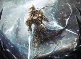 Winter Knight by monpuasajr