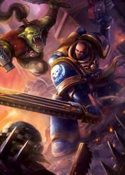 Warhammer 40K Fan Art by monpuasajr