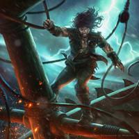Raider of the Storm by monpuasajr