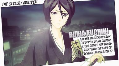 Rukia Kuchiki Comic Style Tag by TattyDesigns
