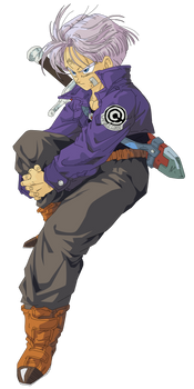 Trunks Vector Render/Extraction PNG by TattyDesigns