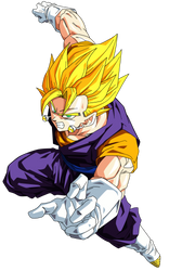 Super Vegito Render/Extraction PNG by TattyDesigns