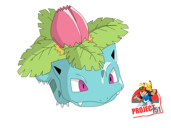 002 Ivysaur Vector Render/Extraction by TattyDesigns