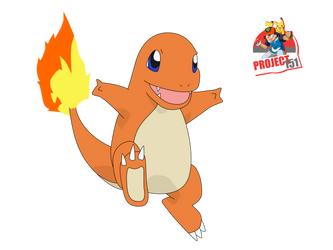 004 Charmander Vector Render/Extraction by TattyDesigns