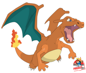 006 Charizard Vector Render/Extraction by TattyDesigns