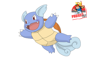 008 Wartortle  Vector Render/Extraction by TattyDesigns