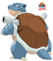 009 Blastoise Vector Render/Extraction by TattyDesigns