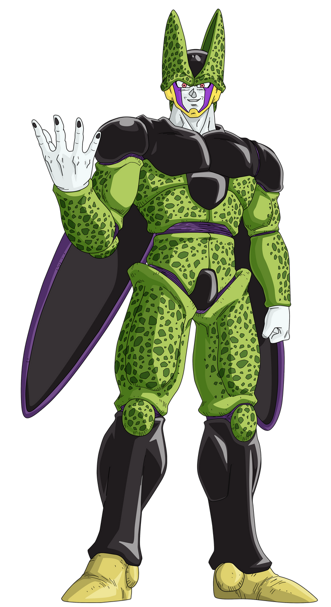 Perfect Cell Render/Extraction PNG by TattyDesigns