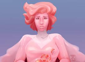 Pink Diamond by CaffeineCreations