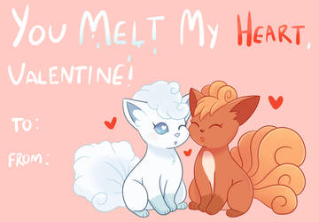 You Melt My Heart, Valentine! by LegallyLee