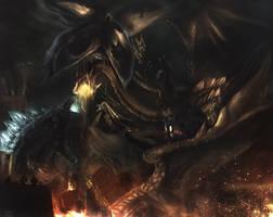 Godzilla by lethanhkhang