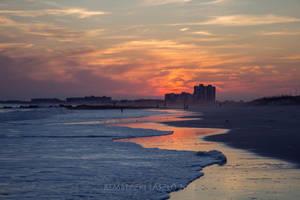 Sunset 0n Rockaway Beach by rembo78
