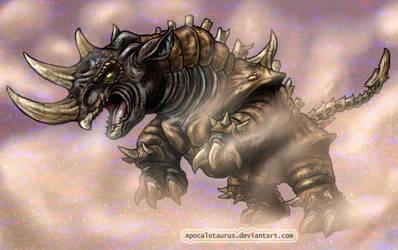 Arnie - Kaiju Assault (commission) by Apocalotaurus