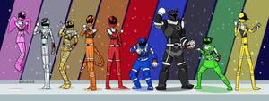 Uchuu Sentai Kyuranger by ZyZa0123