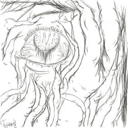 Infected eye by Tageroth
