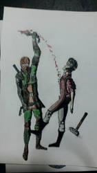 Ninjago: Lloyd kill Kai's and Nya's father by shyrox7