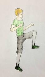 Sprinting man by shyrox7