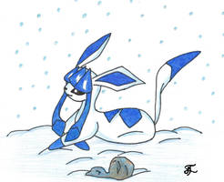 Glaceon by edwardismyBF