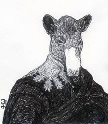 Portrait of a Tapir - 1631 by bluehinter