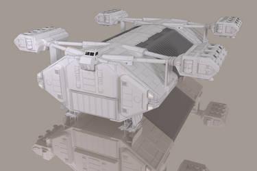Lander Work-in-progress by lucasdigital