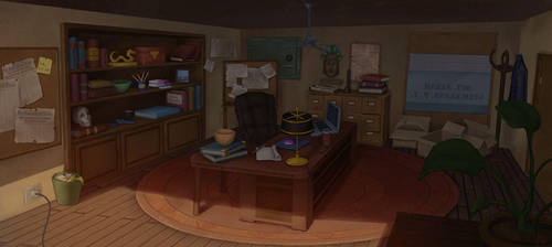 Sarah's-office by M-Whistler