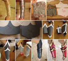 EVA Foam Bracers Tutorial by MohriganCosplay